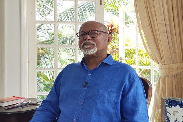 Le leader de Lalyans Seselwa, candidat potentiel à la présidentielle, revient aux Seychelles après une chirurgie  à l'étranger