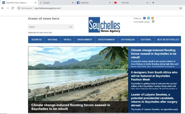 Les Seychelles se classent au 3ème rang en Afrique pour la pénétration d'Internet et poussent pour plus de connectivité