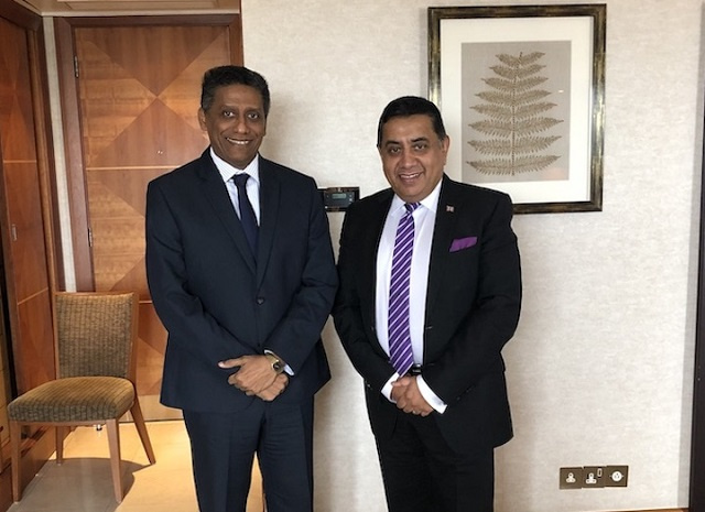 Maritime management, security underpin talks with Seychelles' president, UK official