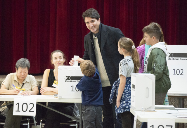 Trudeau's Liberals to form minority government: Canadian TV projections