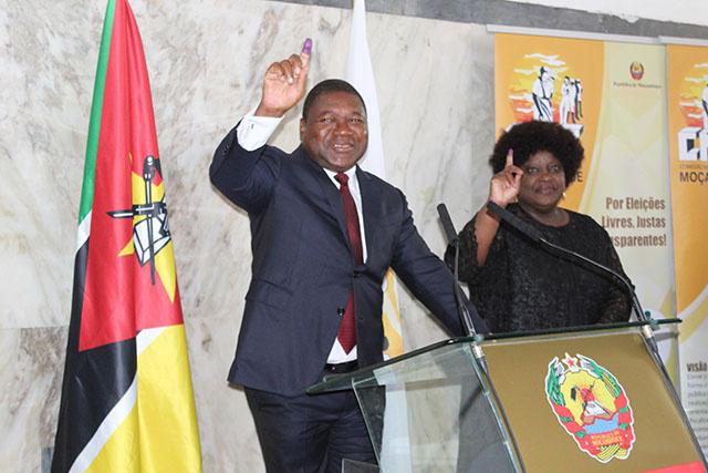Mozambique: le président Filipe Nyusi réélu, l'opposition dénonce des fraudes
