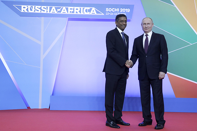La Russie veut augmenter les échanges économiques avec l'Afrique