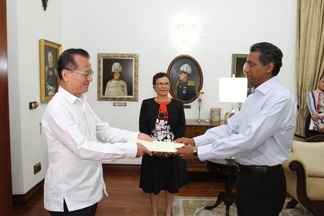 Japan, upgrading relations with Seychelles, opens a new embassy this week