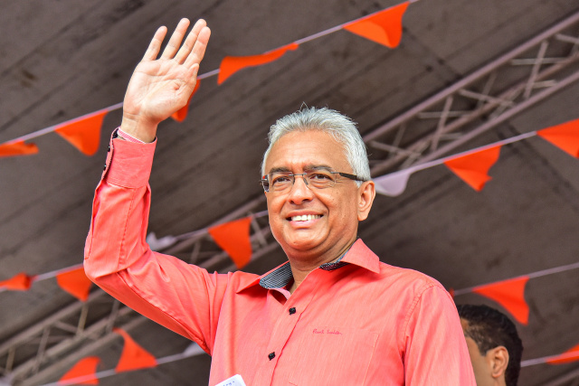 Mauritius elects incumbent premier for five-year term