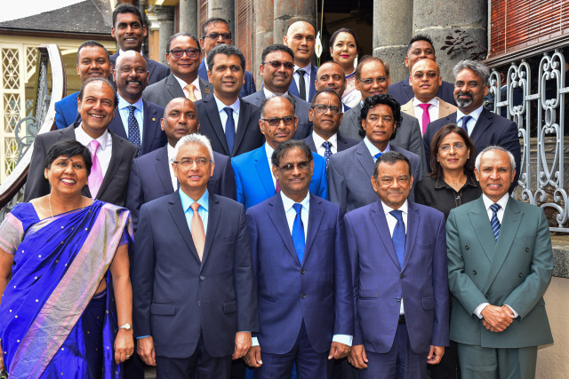 Mauritius PM Jugnauth takes oath after election win