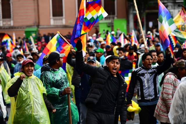 Bolivia interim president rules out Morales election bid