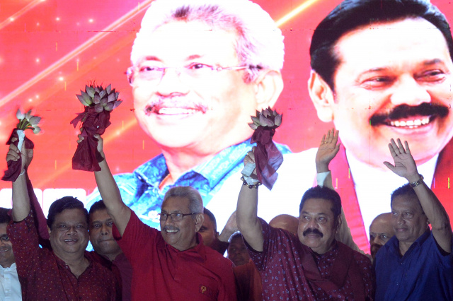 Rajapaksas eye comeback in tense Sri Lanka election