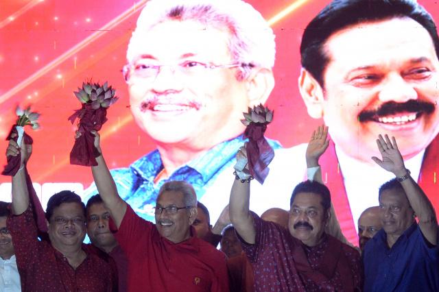 Rajapaksa brothers cement power in Sri Lanka