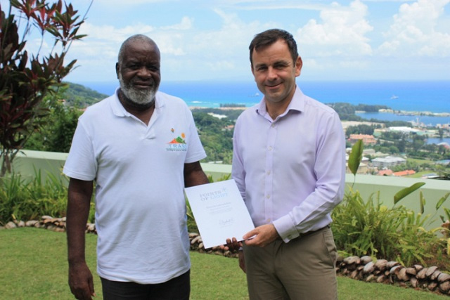 Queen Elizabeth II recognizes Seychellois as exceptional island conservation volunteer