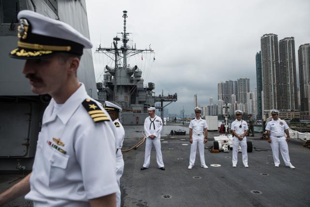 China slaps sanctions on US over Hong Kong unrest