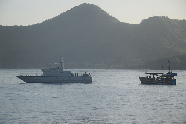 2 Sri Lankan-registered boats intercepted in Seychelles' waters; suspected of illegal fishing