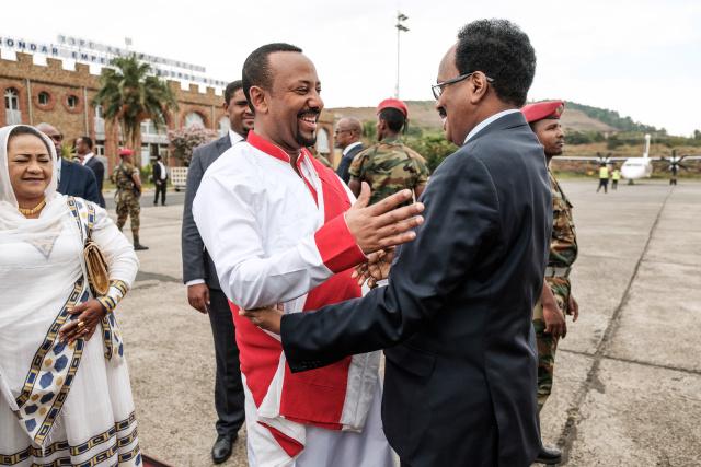 Pressured at home, Ethiopia PM picks up Nobel Peace Prize
