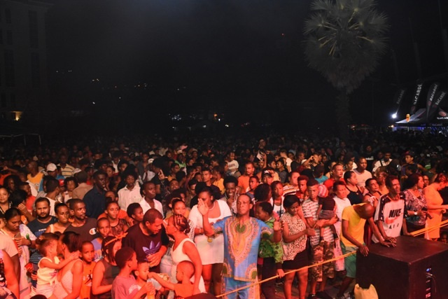 Life is short. More exercise: Seychellois reflect on 2020 at crowded street party