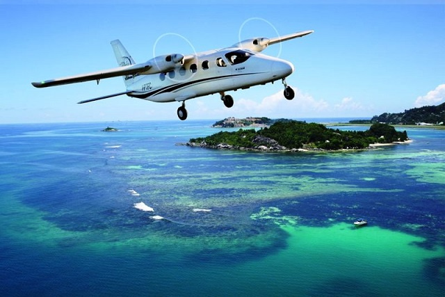 Zil Air's new 11-seat plane makes more of Seychelles' remote islands accessible