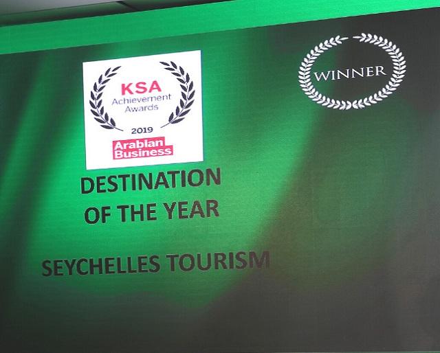 Destination of the year: Arabs bestow Seychelles latest award