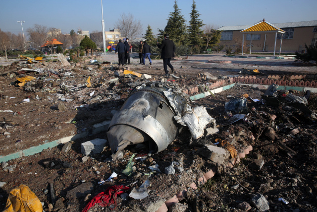 Ukraine passenger jet crashes in Iran killing all 176 on board