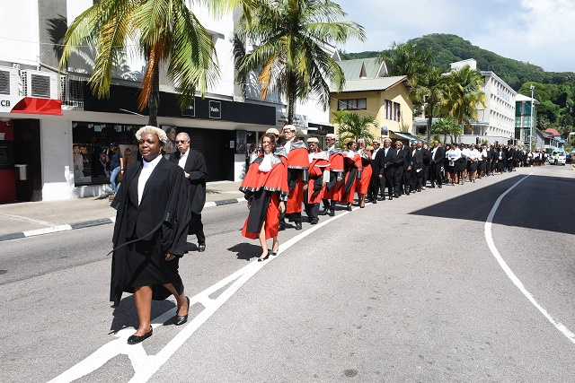Seychelles' Chief Justice says she will step down from Supreme Court at the end of mandate in 2020