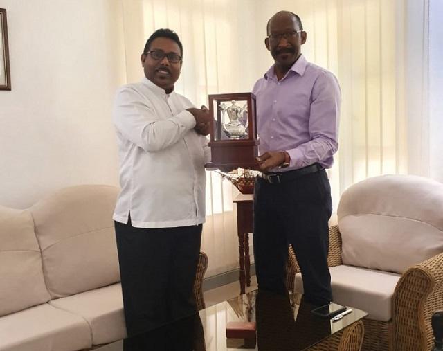 Le Sri Lanka sollicite le soutien des Seychelles pour présenter une demande à la Commission de l'océan Indien, selon le Haut Commissaire sortant