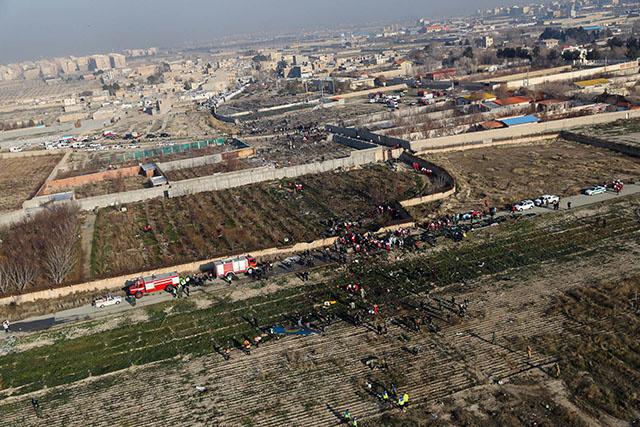 Boeing abattu en Iran: des arrestations, l'indignation perdure