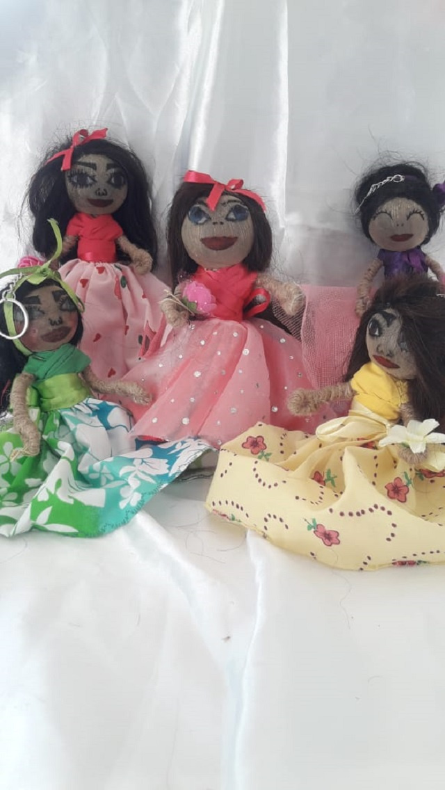 Seychellois woman entrepreneur reviving handmade Creole dolls