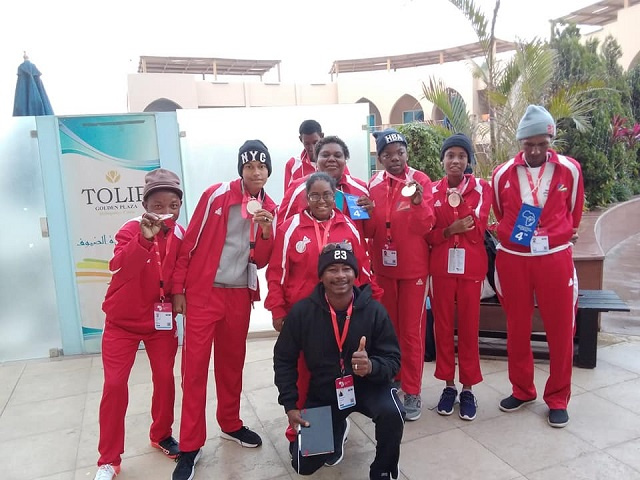Seychelles' Special Olympians all bring home medals at first-ever Africa games in Egypt