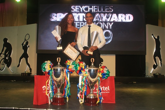 Passon, Govinden win Seychelles' sports person of the year titles