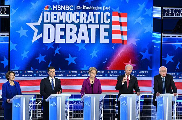 Coup d'envoi de la primaire démocrate pour choisir celui qui défiera Trump