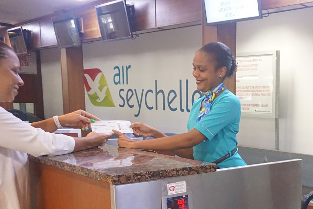 Croissance du tourisme : l'équipe au sol d'Air Seychelles a traité 1 million de passagers en 2019