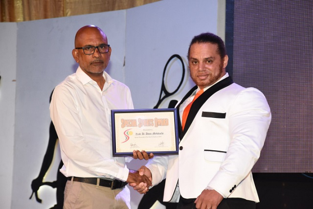 Seychellois bodybuilder, Sports Personality of the Year winner, hopes to advance career even further