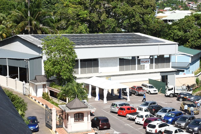 State House in Seychelles is connected to solar; plan for three gov't branches to go green