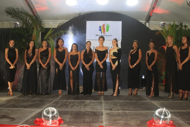 Contestants unveiled: Beauty and brainpower on stage for upcoming Miss Seychelles pageant