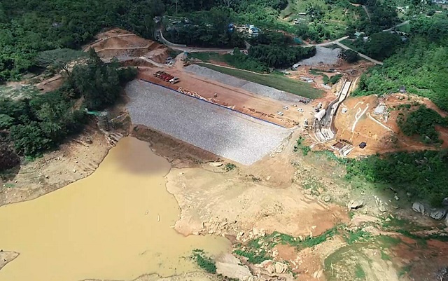 New dam in Seychelles now 70 percent complete; to become operational in June