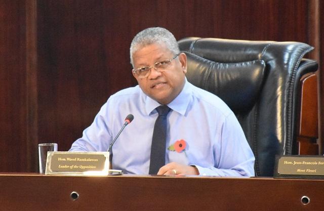 Réponse sur l'État de la nation: le chef de l'opposition déclare que la feuille de route des Seychelles n'est pas claire