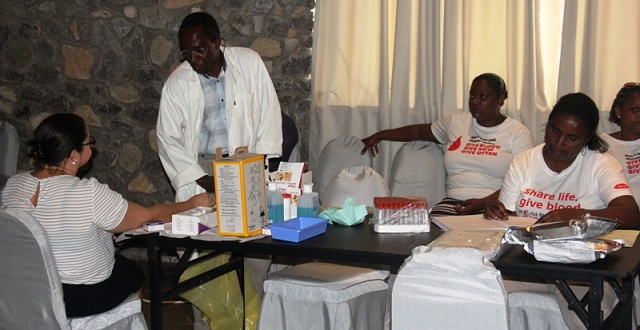 Health officials see shortage of blood donors in Seychelles, hope more will give consistently