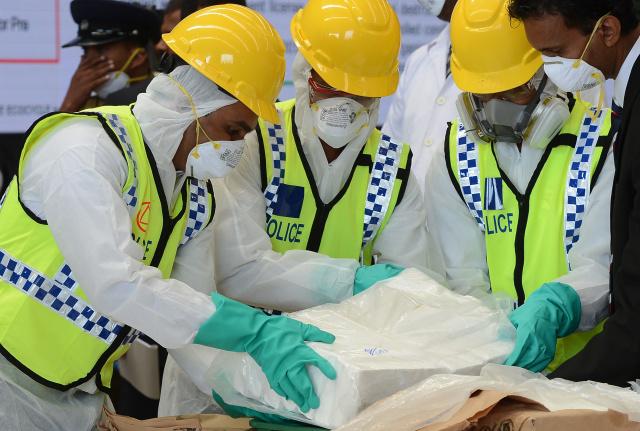 Sri Lanka seizes record drugs haul at sea