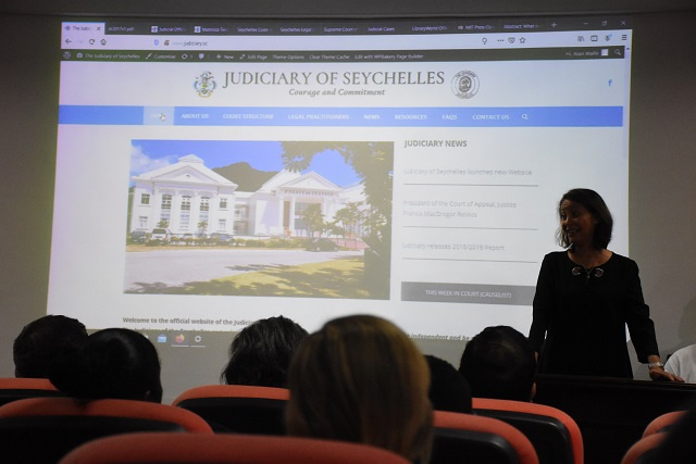 Seychelles launches website for access to cases, forms, legislation