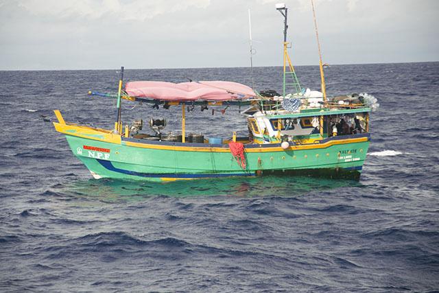 Un deuxième bateau sri-lankais intercepté dans les eaux des Seychelles pour pêche illégale