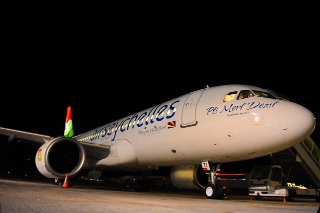 Air Seychelles' newest plane arrives amid air travel slowdown, but with eyes on future