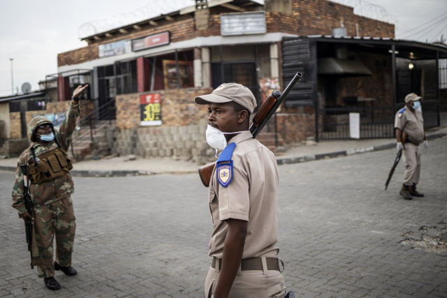 Batons, bullying and handcuffs mar Africa's virus shutdowns