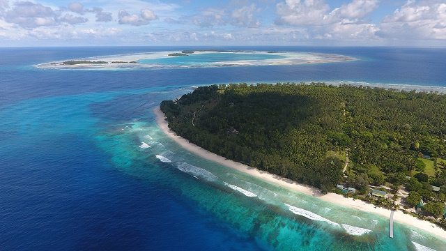 Waters around 2 of Seychelles' outer islands were the final pieces to reach the 30 percent protected threshold