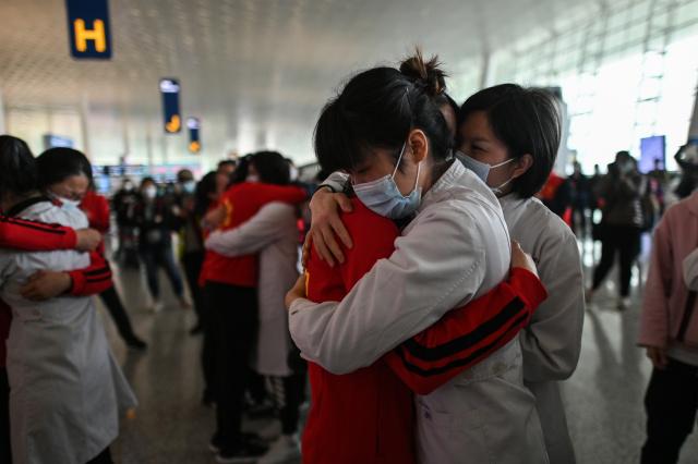 Joy, relief as exodus from Wuhan begins
