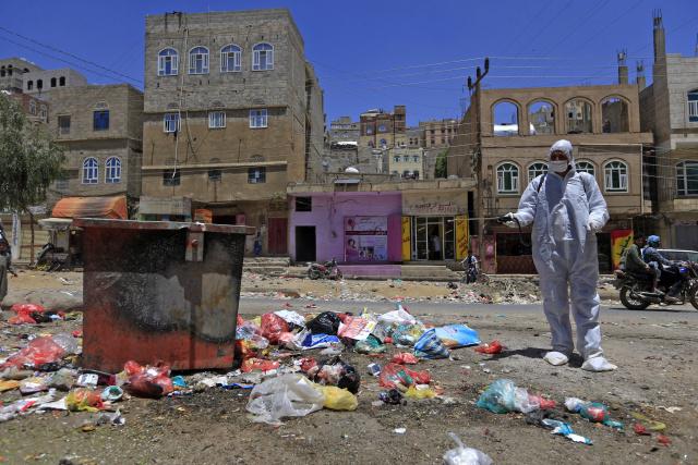 Saudi-led coalition declares 2-week coronavirus ceasefire in Yemen
