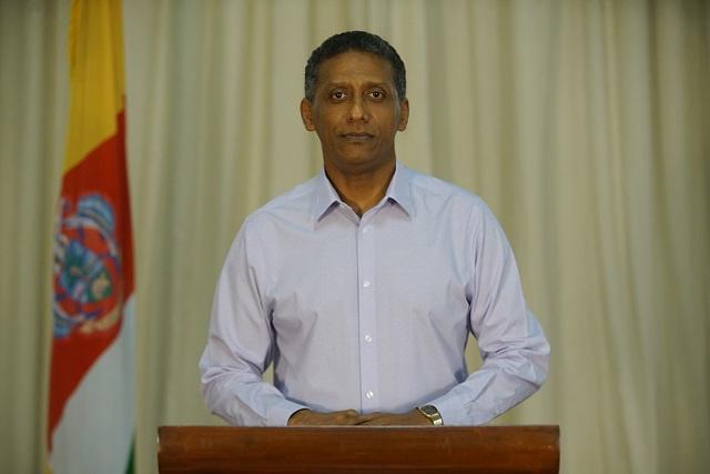 Le Président des Seychelles : circulation interdite après 19 heures pour lutter contre la propagation du COVID-19