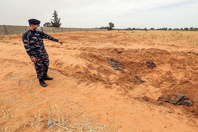 """Libye: l'ONU """"horrifiée"""" par des informations sur des charniers"""