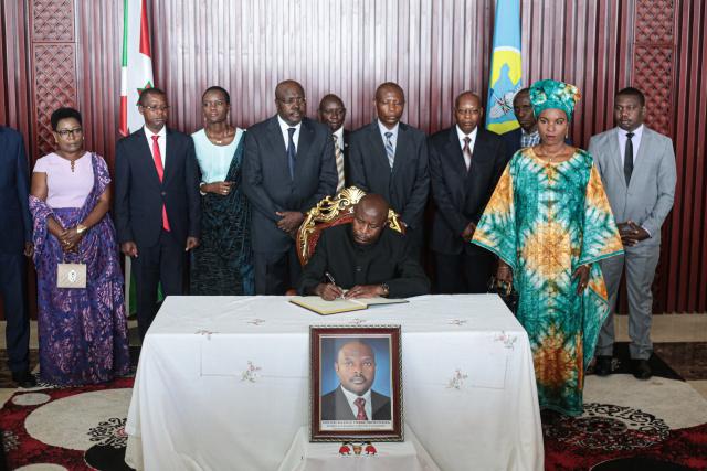 Burundi court orders president-elect sworn in after leader's death