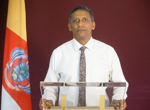 Le président des Seychelles propose la création d'un gouvernement d'unité nationale pour surmonter la crise du Covid-19