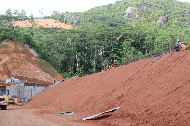 COVID-19 restrictions delaying Seychelles' major projects, including La Gogue Dam