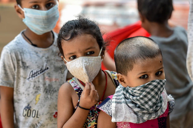 Virus pushing millions of South Asia children into poverty, says UN