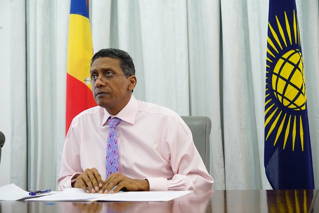 Global action required to counter COVID's economic toll, Seychelles' president tells Commonwealth leaders