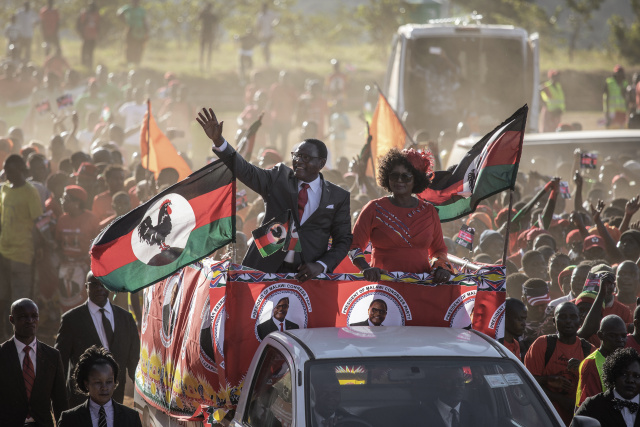 Malawi opposition leader wins presidential vote re-run